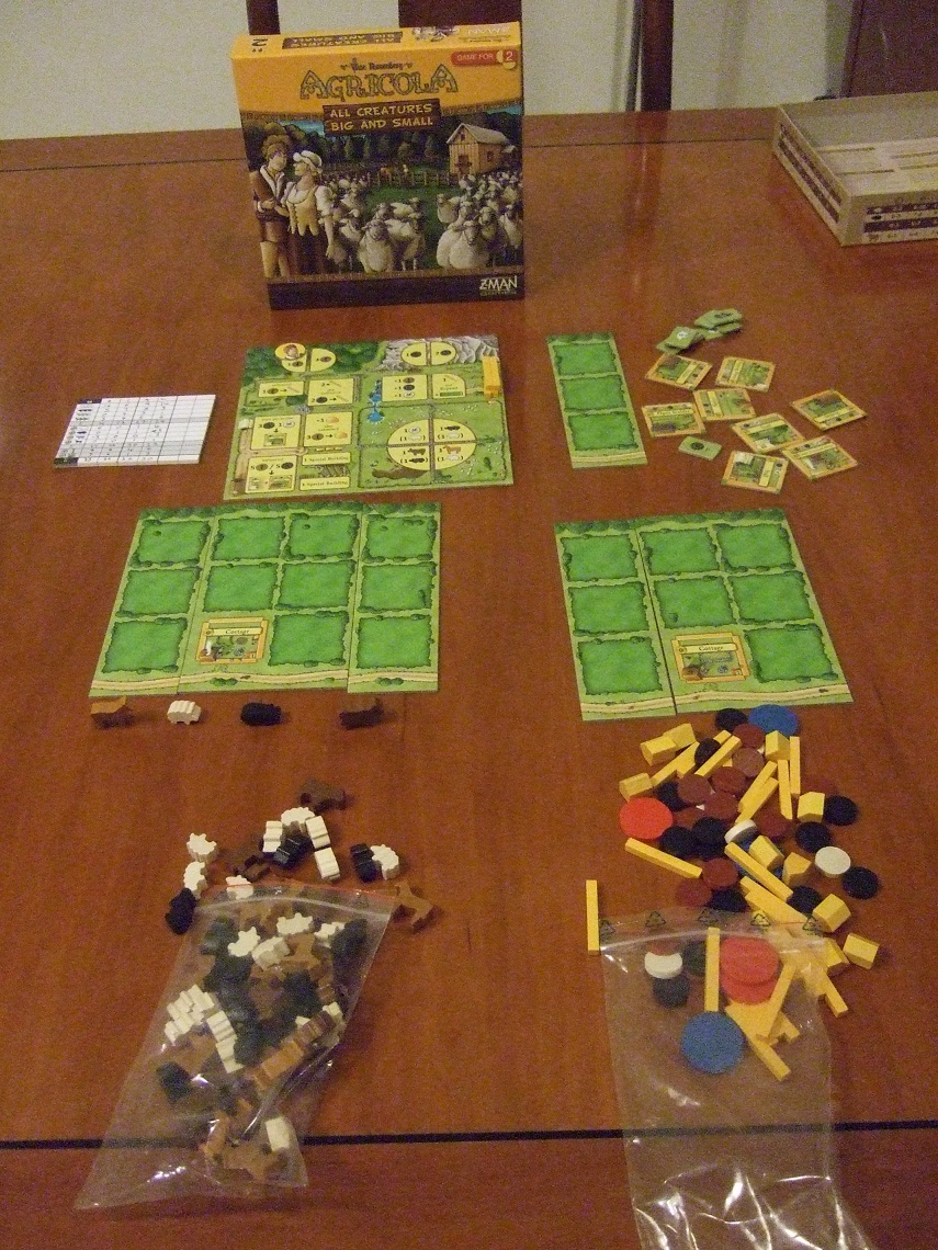 Agricola Box & Contents