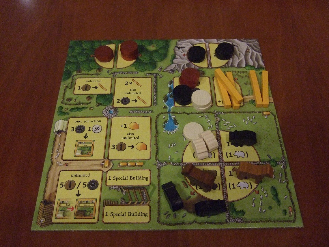 Agricola Worker Options